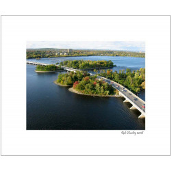 Champlain Bridge - 8x10 Matted Print