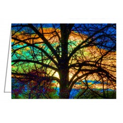 Stained Glass Tree -...