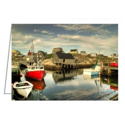 The Harbour, Peggy's Cove -...