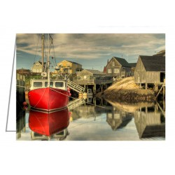 The Red Boat, Peggy's Cove...