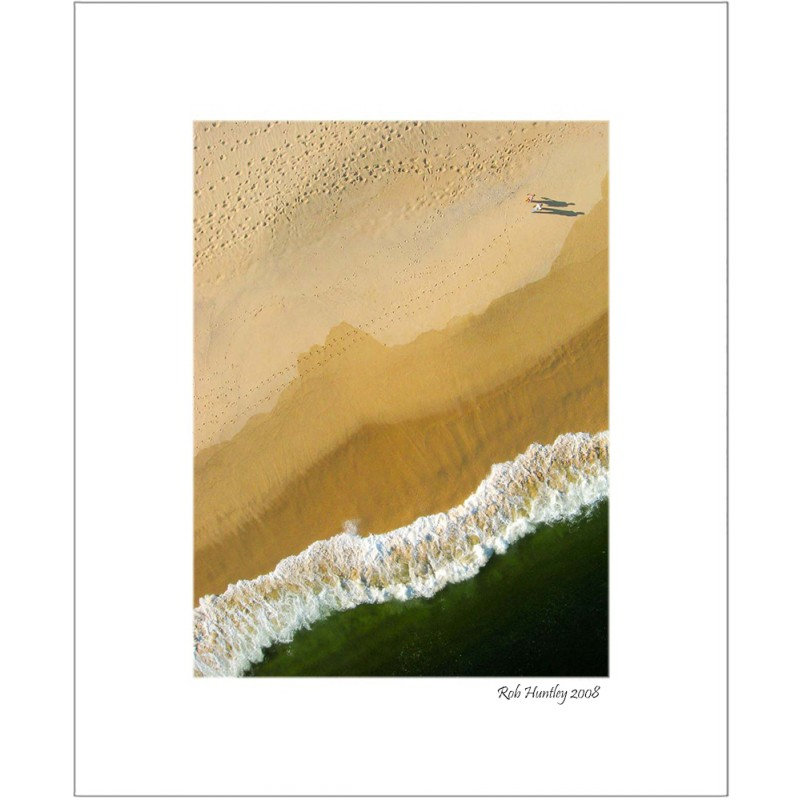 A Walk on the Beach - 8x10 Matted Print