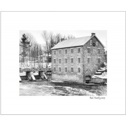 Watson's Mill In Manotick - 8x10 Matted Print
