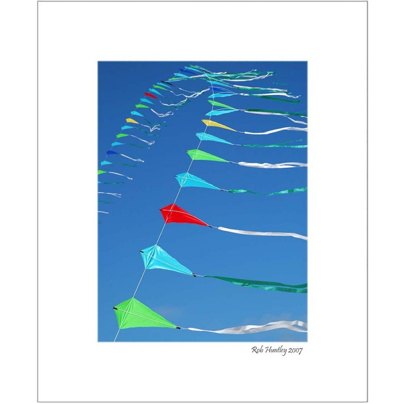 String of Kites - 8x10 Matted Print